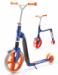 Цены на Самокат - беговел трансформер Scoot&Ride Highway Gangster 2 в 1 бел - гол - оранж Предназначен для детей и подростков. За 2 сек трансформируется из самоката в беговел. Надёжная констукция,   усиленный руль.