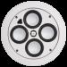 Цены на Встраиваемая в потолок АС SpeakerCraft AccuFit Ultra Slim Three Single (ASM66433)