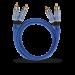 Цены на 2RCA  -  2RCA межблочный кабель OEHLBACH 2702 2.0 м