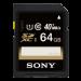Цены на Sony SF - 64UY/ T1 Класс скорости  -  Class 10,   Скорость записи  -  15,   Скорость чтения  -  40,   Цвет  -  Белый,   Объем памяти  -  64,   Поддержка UHS  -  UHS - I,   Ширина  -  24,   Тип карты памяти  -  SDXC,   Глубина  -  2.1,   Вес  -  2,   Картридер  -  Нет,   Высота  -  32,   Скорость чтения  -  40