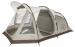 Цены на Greenell Четырехместная палатка,   в виде полубочки,   с полностью герметичным полом. Система Антимоскит. Современная конструкция с великолепным обзором и отличной вентиляцией. Два входа,   два спальных отделения разделенных тканевой перегородкой. Новая верхняя