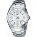 Цены на Наручные часы Casio Edifice EF - 125D - 7A Кварцевые часы. Стекло устойчивое к возникновению царапин. Подсветка стрелок. Отображение даты: число. Технические особенности: точность хода ±20с/ мес. Диаметр 40 мм