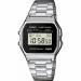 Цены на Наручные часы Casio Standart A - 158WEA - 1E Кварцевые часы. 12 - ти и 24 - х часовой формат времени. Вечный календарь до 2099 г. Ежедневный будильник со звуковым сигналом. Максимальное время измерения секундомера 60 минут.Точность измерения секундомера 1/ 100 сек
