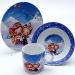 """Цены на Mayer&Boch Набор посуды Mayer&Boch 23388 Описание товара: Набор посуды детский """" Лыжники""""  3 предмета:  -  тарелка суповая D15 см  -  тарелка обеденная D17,  5 см  -  кружка 230 мл Материал: керамика Размер упаковки: 20х9х18,  5 см Вес: Детский набор посуды"""