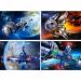 """Цены на Castorland Пазл Castorland Космос 120 элементе A - 12022 - KO Детский пазл """" Космос""""  от компании Castorland состоит из 120 элементов. Собранный пазл представляет собой красочную картинку,   на которой изображен космический пейзаж со спутником. Все дета"""