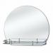 Цены на Зеркальные грани Зеркало с полочкой Зеркальные грани 0201 с креп. (к2) с полкой (56 П) Тип: зеркало для ванной комнаты Тип монтажа: настенный Форма: арочная Зеркало: влагостойкое серебряное однослойное Полочка для принадлежностей: есть Ширина: 600 мм Высо