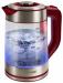 Цены на LUMME Электрочайник LUMME LU - 133 красный гранат Тип чайник Объем 2 л Мощность 2200 Вт Тип нагревательного элемента закрытая спираль Материал корпуса металл/ стекло Особенности Безопасность блокировка включения без воды Индикатор уровня воды есть Подсветка