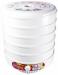 Цены на Renova Сушилка для овощей Renova DH - 500V/ 5 Мощность: 500 Вт Количество поддонов для овощей и фруктов: 5 Суммарный объем поддонов: 17л Тип управления: механическое Температурный режим: 30 - 70 С Вентилятор Габариты изделия: 39,  5х30,  5х30,  5 см Габариты упаковк