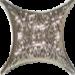 Цены на Керамическая плитка Ebesa Estrella Angara Gris Antr 4JM1A Вставка 6,  7x6,  7