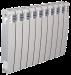 Цены на Секционный биметаллический радиатор Elegance Wave Bimetallico 350 \  03 cекции \  Элеганс Вэйв 350