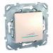 Цены на Диммер светорегулятор нажимной 350W Schneider Electric UNICA бежевый MGU5.515.25ZD