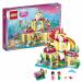 Цены на LEGO Lego Disney Princess 41063 Лего Принцессы Дисней Подводный дворец Ариэль 41063 Увлекательный конструктор из серии Disney Princesses от LEGO из 379 деталей. Построй удивительный подводный дворец и отправляйся навстречу приключениям вместе с Ариэль,   ее