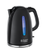 Цены на Russell Hobbs Russell Hobbs 22591 - 70 Чайник Объем 1.7 л Мощность 2400 Вт Закрытая спираль Вращение на подставке на 360 градусов Зоны быстрого кипячения на 1,   2 или 3 чашки Система хранения шнура Голубая подстветка во время кипячения