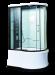 Цены на Душевая кабина LanMeng (ЛанМенг) LM835TG L ассиметричная,   с глубоким поддоном (высокая),   размер 110х85 см,   левая 110х85х213 см Современный дизайн,   мощное ударопрочное стекло,   надежный поддон с антискольжением,   удобное сиденье. LanMengLM835TG L  -  это закры