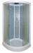 Цены на Душевая кабина ARCUS (Аркус) AS - 102 угловая,   с низким поддоном,   стеклянная,   маленькая,   размер 90х90 см,   для дачи Закрытая душевая кабина полукруглой формы. Габариты 90х90х215 см. Низкий поддон 15 см. Производитель  -  Arcus. Преимущества кабин Arcus: при пр