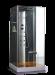 Цены на Душевая кабина Wasserfalle W - 6001А Габариты 100х100х210Гидромассаж спиныВерхний душ Ручной душ Аксессуары (полки,   сиденье,   деревянная вставка в поддон) Стальной профиль,   хром Стекла 6 мм,   аллюминиевая центральная панель Ручное управление Страна - производит
