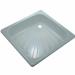 Цены на Поддон для душа River стальной квадратный (90 см) Габариты: 90х90х16 см Материал: сталь,   эмаль