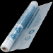 Цены на Пленка для теплого пола Пленка толщиной 0,  2 мм для покрытия установленной тепловой/ звуковой изоляции. Предотвращает попадание мокрого бетона на изоляционный слой.