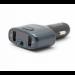 Цены на Автомобильный FM - трансмиттер с Bluethooth Eplutus FB - 06 Eplutus Автомобильный FM - модулятор с Bluethooth Eplutus FB - 06: поддержка форматов MP3,   WMA ;  USB - вход;  Bluetooth;  линейный вход (Aux);  USB - порт для зарядки;  громкая связь