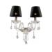 Цены на Федерика Chiaro 344029702 344029702 Бра,   стекло,   металл/ хрусталь,   текстиль,   Chiaro