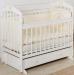 Цены на Incanto Кровать с универсальным маятником Incanto Pali - 3 Мишка White белый Красивая кроватка c маятником [!model] впишется в ваш интерьер