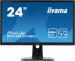 Цены на IIYAMA жидкокристаллический LCD 24'' [16:9] 1920х1080 TN,   nonGLARE,   250cd/ m2,   H170°/ V160°,   1000:1,   12М:1,   16,  7M Color,   2ms,   VGA,   DVI,   DP,   USB - Hub,   Height adj.,   Pivot,   Tilt,   HAS,   Speakers,   3Y,   Black B2483HSU - B1DP IIYAMA B2483HSU - B1DP Монитор IIYAMA Монитор