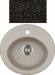 Цены на Kuppersberg Кухонная мойка Kuppersberg CAPRI 1B BLACK Внешние размеры 500 x 470 x 210 Размеры чаши 403 х 317 База встраивания 45 см Материал Kuppersberg Rok Цвет черный Материал Гранит