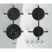 Цены на Whirlpool Газовая варочная панель Whirlpool GOA 6423/ WH