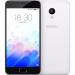 """Цены на Meizu MEIZU M3 16Gb Белый (оригинальный) Смартфон на Android 5.1,   2016 года Экран: 5.0"""" 720 x 1280 px IPS Камеры: основная 13 Мп.,   селфи 5 Мп. Процессор: 8 ядра 1500 МГц. Аккамулятор: 2870 мА·ч. Корпус: Поликарбонат"""