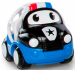 """Цены на Oball Игрушка Oball """"Только вперед"""" Машинка """"Полиция"""" (цвет: сине - белый) (10311 - 5) Машинка Полиция из серии Только вперед! от бренда Oball представлена в виде развивающей игрушки для малышей. Кузов игрушечного автомобиля выполнен в форме шара с большими о"""