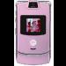 Цены на Motorola Motorola RAZR V3i Pink 1084~01 Для всех ценителей необычного подхода к дизайну и внешнему оформлению телефонов предназначена сверхпопулярная модель Motorola V3i в стильном корпусе. Этот раскладной аппарат с двумя дисплеями,   основной из которых им