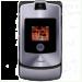 Цены на Motorola Motorola RAZR V3i Grey 1086~01 Для всех ценителей необычного подхода к дизайну и внешнему оформлению телефонов предназначена сверхпопулярная модель Motorola V3i в стильном корпусе. Этот раскладной аппарат с двумя дисплеями,   основной из которых им