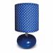 Цены на DeMarkt Настольная лампа Келли 607030201 Настольная лампа Келли 607030201/ матовая/ синий ,   белый/ 220/ модерн/ 1/ гостиную/ спальню