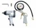 Цены на Fubag Набор пневмоинструмента 120105 В комплект набора входят: пневмогайковерт (158 л/ мин,   312 н/ м,   6 бар) пневмопистолет для накачки шин с манометром шестигранный ключ 4 мм.