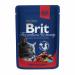Цены на Brit Brit Premium влажный корм для кошек с говядиной и горошком,   100 гр