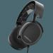 Цены на SteelSeries SteelSeries Arctis 3 Black Отличительной особенностью гарнитуры SteelSeries Arctis 3 Black (61433),   купить которую можно в официальном интернет - магазине,   является максимально продуманная и эргономичная конструкция.
