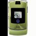 Цены на Motorola Motorola RAZR V3i Green 2069~01 Для всех ценителей необычного подхода к дизайну и внешнему оформлению телефонов предназначена сверхпопулярная модель Motorola V3i в стильном корпусе. Этот раскладной аппарат с двумя дисплеями,   основной из которых и