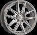 Цены на 1000 Miglia 1000 Miglia MM041 7.5x17 5x108 ET50 dia 63.4 silver gloss