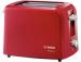 Цены на Bosch Тостер Bosch Tat 3A014 Мощность: 825 - 980 Вт Для двух ломтиков хлеба Электронная установка постоянной температуры поджаривания Бесступенчатый терморегулятор с интегрированной функцией подогрева Автоматическое центрирование тостов для равномерного под