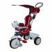 Цены на Mars Велосипед Mars Mini Trike LT - 78 11 Красный Велосипед 3 - х колесный Mini Trike LT - 7811. Характеристики: — стальная облегченная рама,   — съемная родительская ручка,   — независимая от ручки складывающаяся крыша,   — сиденье с мягким вкладышем,   — съемный бамп