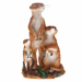 Цены на Изделие декоративное Семья суррикатов,   H 37 см