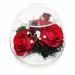 Цены на Цветы в стекле: Композиция из натуральных роз. Данная композиция состоит из натуральных роз,   обезвоженных по специальной технологии,   которая даёт возможность цветам сохранять свой свежий вид на несколько лет,   в среднем 6. В течение этого времени вы сможет