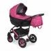 Цены на Caretto (Польша) Коляска BLISS 2в1 (Caretto),   Bl 05 (розовый + черная кожа) Детская коляска 2 в 1 Bliss придется по душе даже самым взыскательным родителям и малышам. Ведь при ее создании использовались самые лучшие материалы.Мягкие,   натуральные ткани обивк