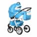 Цены на Caretto (Польша) Коляска ADRIANO F 3в1 (Caretto),   Ad 07 (голуб. + бел.кожа) Стиль и безопасность,   комфорт и функциональность  -  все это о коляске Caretto ADRIANO F 3в1. Долгожданная новинка от бренда Caretto порадует продуманностью дизайна и конструкторскими