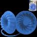 Цены на Silikomart Форма Savarin,   d 24 см,   выс. 6 см,   светло - синяя,   на карточке Силиконовая форма отлично подходит для приготовления разнообразной выпечки и десертов. Готовые сладости вынимаются из гибкой и прочной формы очень легко,   а во время приготовления не п