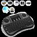 Цены на Беспроводная клавиатура c подсветкой Rii mini i8 +   Беспроводная клавиатура c подсветкой Rii mini i8 + ,   черная Русифицированная беспроводная клавиатура Rii mini i8 +  с подсветкой для Android TV приставок,   Smart TV и др. Беспроводной стандарт 2.4G позвол
