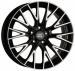 """Цены на 1000 Miglia MM1009 7x17/ 5x108 D63.3 ET50 Gloss Black Polished литые,   легкий сплав,   ширина обода 7"""",   диаметр обода 17"""",   крепежных отверстий 5,   PCD 108 мм,   центральное отверстие 63.3 мм,   вылет ET 50 мм,   цвет: серебристый + черныйлитые дискиширина х диаметр (J"""