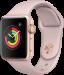 Цены на Apple Умные часы Apple MQKW2RU/ A Watch Series 3,   38 мм золотистый алюминий/  спортивный ремешок «розовый песок»