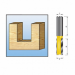 Цены на Фреза пазовая,  2лезвия,  хв - 8мм,  ф6мм,  длина - 19мм,   MAKITA,   ( D - 10051 )