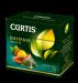 """Цены на Чай Curtis """"Bahama Nights"""",   20 пирамидок Зелёный листовой чай с кусочками ананаса,   лепестками цветов и ароматом экзотических фруктов в пирамидках"""